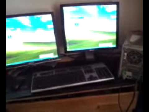 Dual Monitor XP Compurer