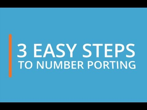 How to Port a Number: Simple Steps to Number Porting