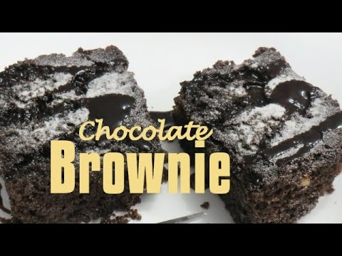 Chocolate Brownie in Microwave - Bake & Cake - Seema's Smart Kitchen