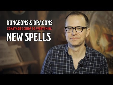 New D&D Spells in 'Xanathar's Guide to Everything'
