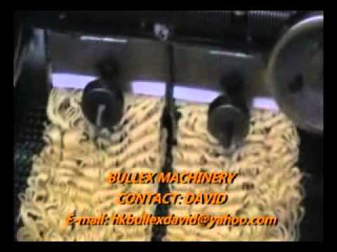 Mini small instant noodle production line.flv