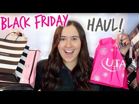 BLACK FRIDAY HAUL 2017!! victoria's secret, sephora, ulta, & more!