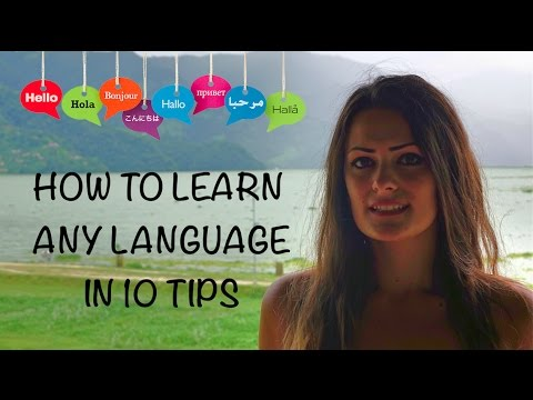 How to learn any language in 10 tips |  By polyglot girl