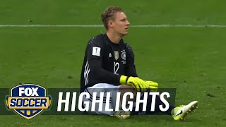 Juric goal makes it 3-2 against Germany after VAR review | 2017 FIFA Confederations Cup Highlights