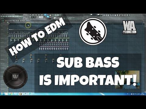 How to EDM: Using Sub Bass in Bass House / EDM FL Studio Tutorial (+ Free FLP, Samples, Presets)