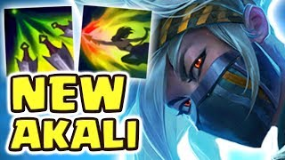 RIOT RELEASED A MONSTER!! NEW AKALI REWORK JUNGLE SPOTLIGHT | PENTAKILL?! (17 kilIs) | BROKEN DAMAGE