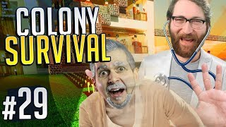 DOCTORS PUSH OLD PEOPLE | Colony Survival #29