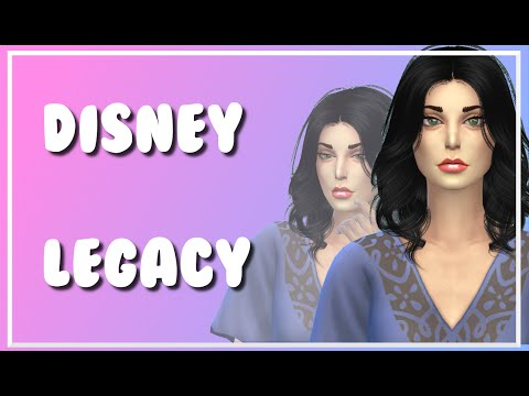 Sims 4 | Disney Legacy: Part 1 | Intro and Rules ♥