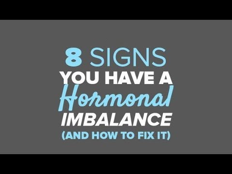 8 Signs you have a hormonal imbalance ( and how to fix it )