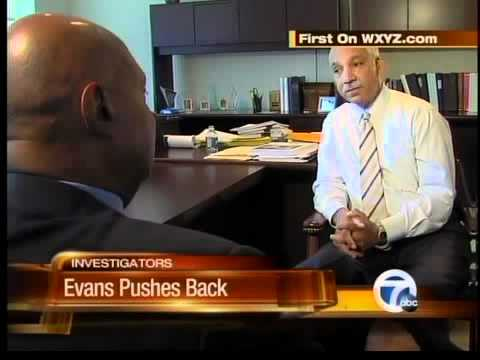 Did Evans push to get his job back?