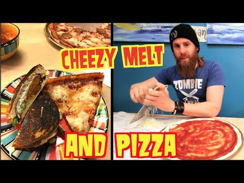 Vegan Pepperoni Pizza & Cheezy Melt (Best Cheeses & Hot Dogs)
