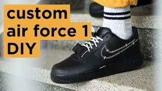 Custom Nike Air Force 1 | How to Matte Angelus Paint