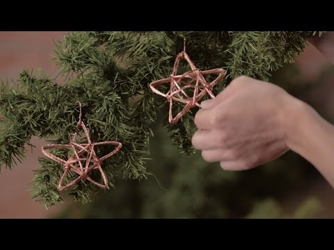 Handmade Star Wire Ornament