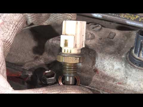 How to replace engine TEMP sensor. Years 2000 to 2018