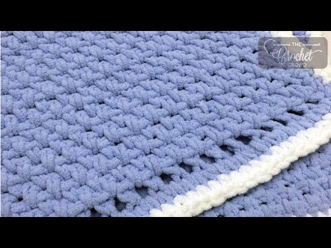 How to Crochet for Beginners: Baby Blanket