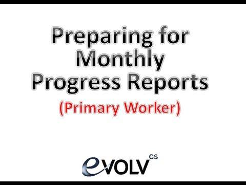 Monthly Progress Report PREP