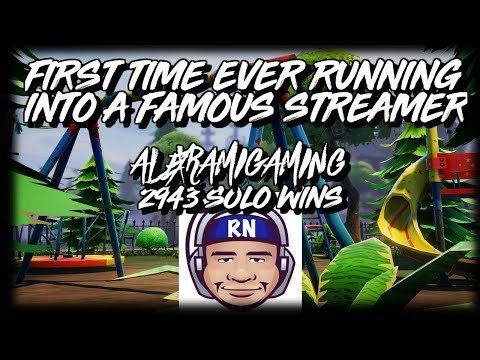 I RUN INTO ALEXRAMIGAMING ON MY LIVE STREAM! MASSIVE BUILD OFF AND WIN?  [FORNITE BR]