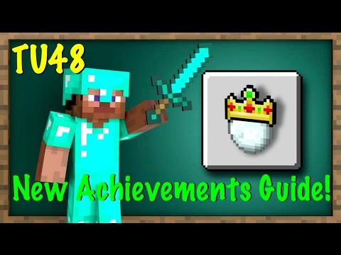 Minecraft Xbox / PS - TU48 - NEW ACHIEVEMENTS GUIDE / CHEATS - TUMBLE SNOWBALLS