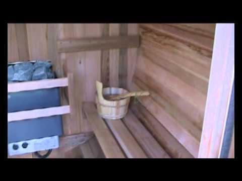 Heaven Saunas סאונה יבשה חיצונית