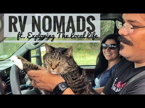 RV NOMADS the MOVIE - Exploring the Local Life -  May 29 Production Daily