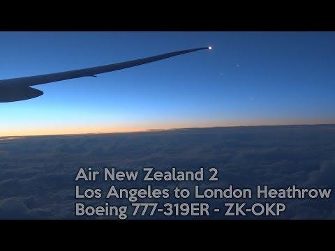 ANZ2 - Los Angeles to London - Boeing 777-300ER (Full Flight & ATC)