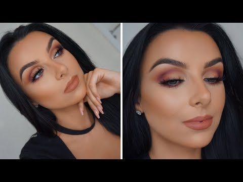 EASY WARM TONE SMOKEY EYES | CHIT CHAT TUTORIAL | Serena Cleary