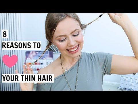8 Reasons to LOVE Your Thin and Fine Hair   Kia Lindroos
