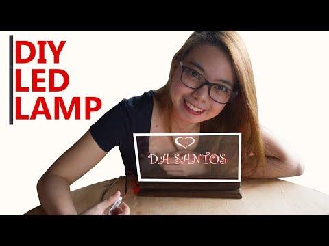 Diy Acrylic Led Lamp