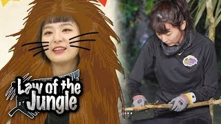 Seulgi Special] She caught HUGE Crab! [Law of the jungle] Ep