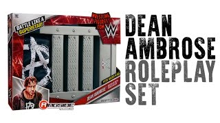 WWE FIGURE INSIDER: Dean Ambrose - WWE Roleplay Set w/ Ladder