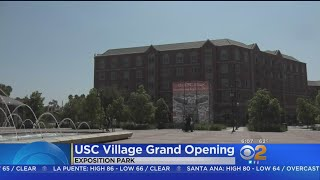 Marching Band To Lead Grand Opening Of USC Village