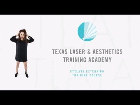 Eyelash Extension Certification Training | Texas Laser & Aesthetics Training Academy