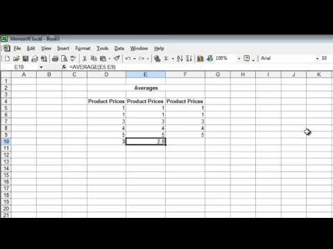 MS Excel (Tutorial 2) : How To Calculate Mean, Median and Mode