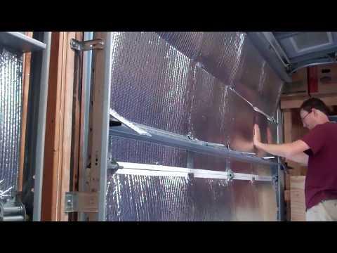 Garage Insulation – Part 2 (Reflectix  radiant heat barrier)