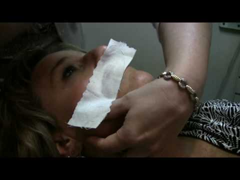 Hair Waxing Tips & Information : How to Wax an Upper Lip
