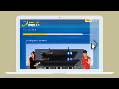 Learn to speak Korean online fast at: www.shortcutkorean.com