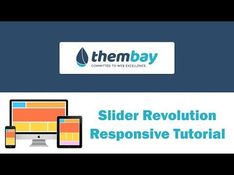 [ThemBay] Slider Revolution Responsive Tutorial