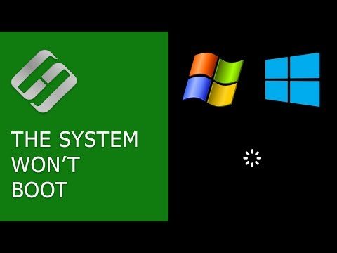 The System Won't Boot. Recover Windows Bootloader with bootrec, fixmbr, fixboot commands 👨💻⚕️💻