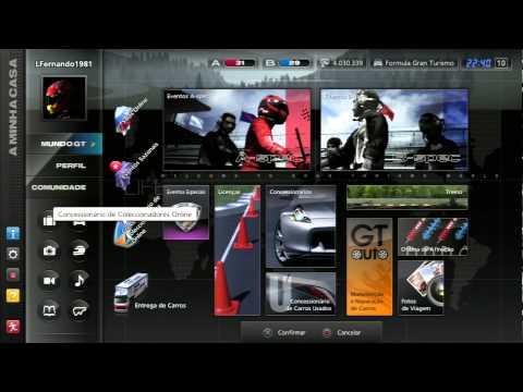 Gran Turismo 5: Nível A e B-Spec + Carro Preferido + Rolezinho