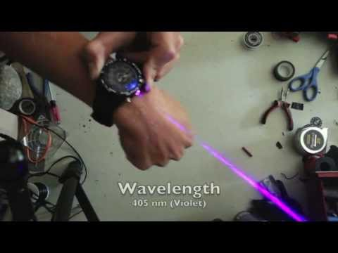 Real Burning Laser Watch