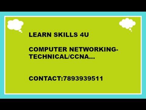 ccna introduction learn skills 4u