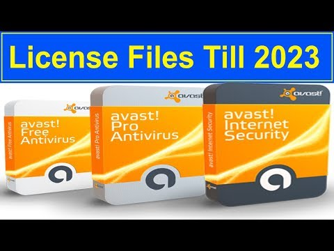 How To Activate Avast Antivirus For Life Time |Avast Premier License File Till 2050|