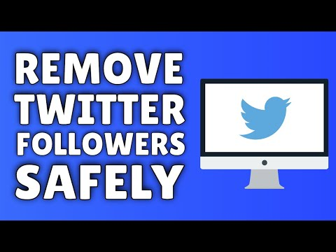 How To Remove Followers On Twitter