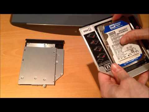 Dell Inspiron 15r SE 7520 - Install Second Hard Drive