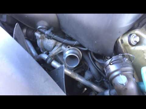 2001 BMW 540i upper Radiator hose replacement E39 M62/M62TU