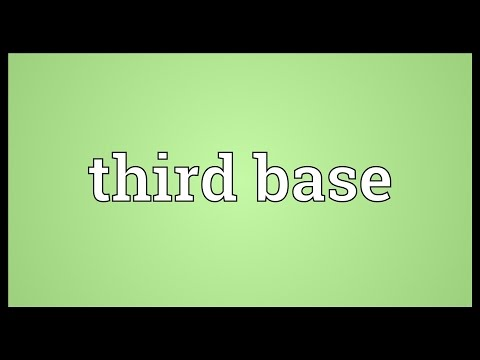 Third base Meaning