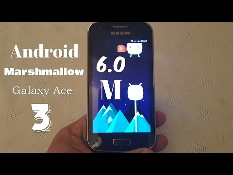 Samsung Galaxy Ace 3 Android 6.0 Marshmallow CM13