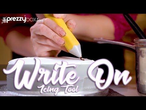 Write On Icing Tool - Enhance your decorating skills!