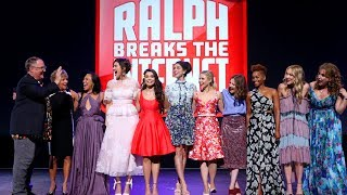 "ALL Disney Princesses appear for ""Wreck-It Ralph 2"" at D23 Expo 2017"