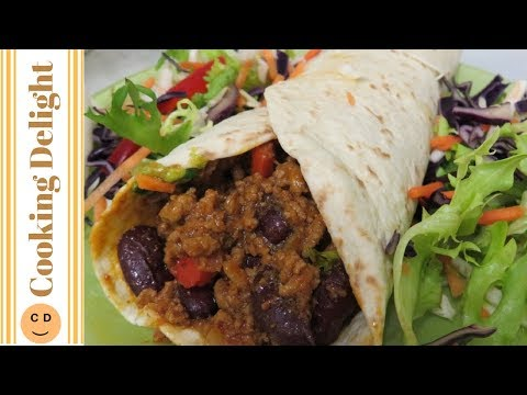 Spicy Beef & Bean Fajitas/Burritos